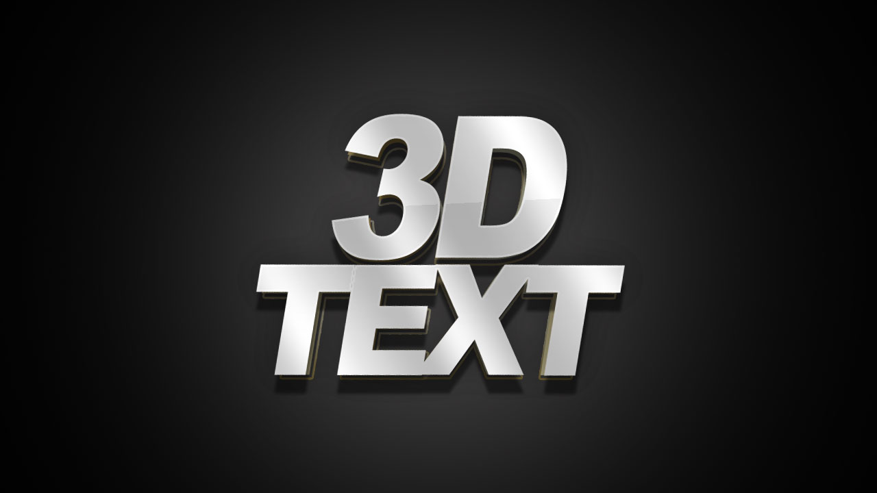 Free 3d Text Effect Church Media Share